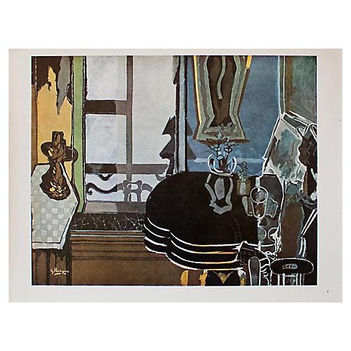 Georges Braque Interior, C. 1940