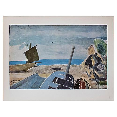C. 1940s Georges Braque, Seascape