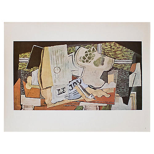 1940s Georges Braque, The Newspaper