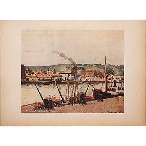 Camille Pissarro, The Seine in Rouen