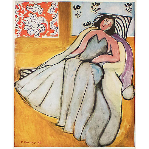 Matisse, Young Woman in the Pelisse