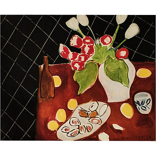 1946 Henri Matisse, Tulips & Oysters