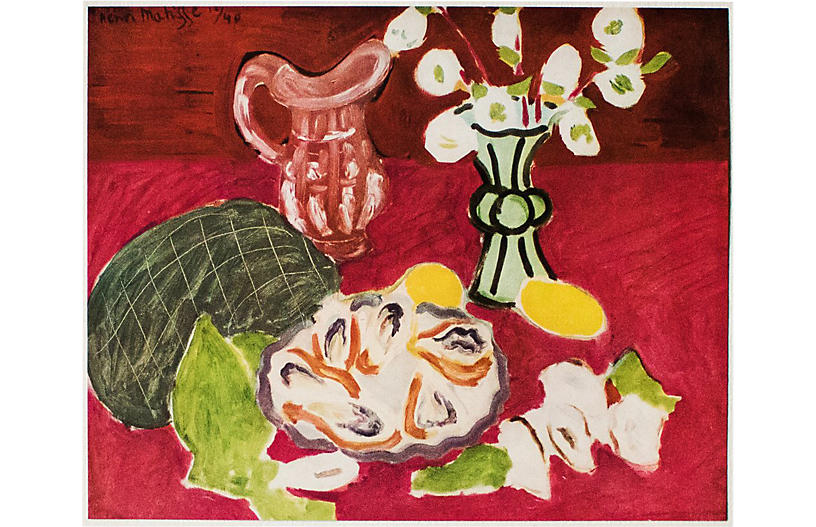 Matisse, Christmas Roses