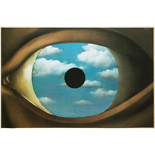 1972 René Magritte, The False Mirror