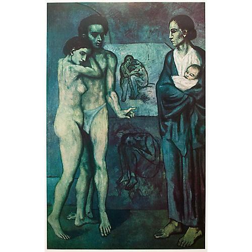 Pablo Picasso La Vie, 1st Ed.