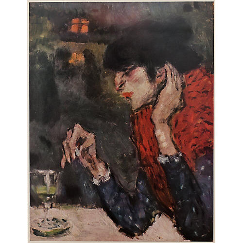 Picasso Absinthe Drinker, 1st Ed.