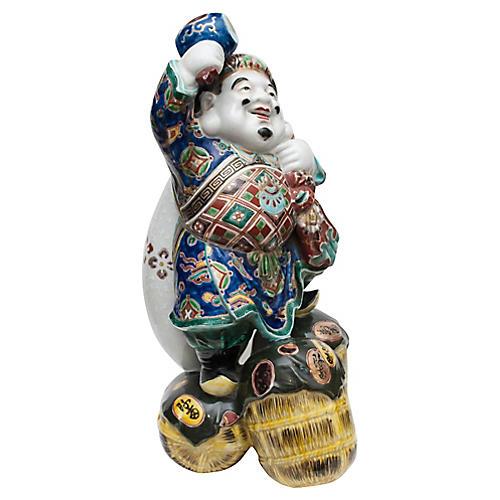 1920-40s Statue of Daikoku,God of Wealth