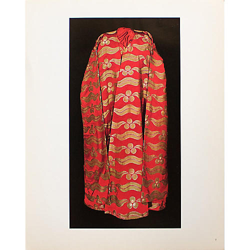 Silk Brocade Kaftan of Sultan Murad VI
