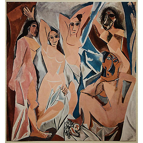 P. Picasso, The Young Ladies of Avignon