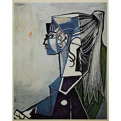 "1960s Pablo Picasso, ""Sylvette"""