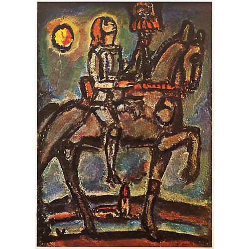 Georges Rouault Notre Jeanne, 1947