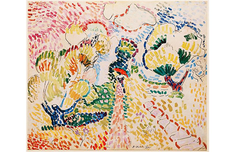 1947 H. Matisse, The Olives Lithograph