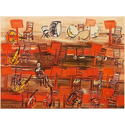 1950s Raoul Dufy Intermission