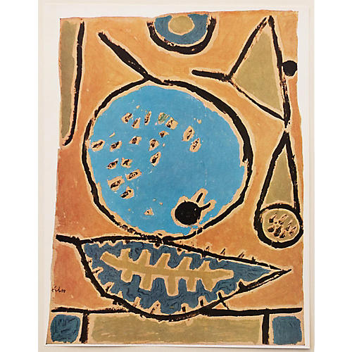 1958 Paul Klee, Coelin Fruit