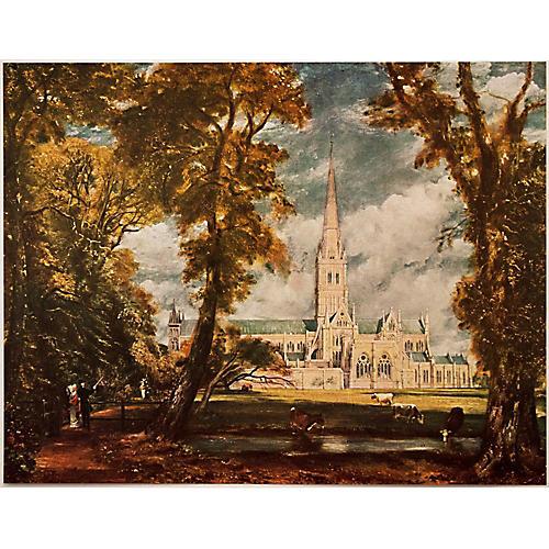 1950s Constable, Salisbury Cathedral