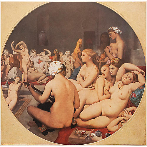 """The Turkish Bath"" by Ingres, 1940s"