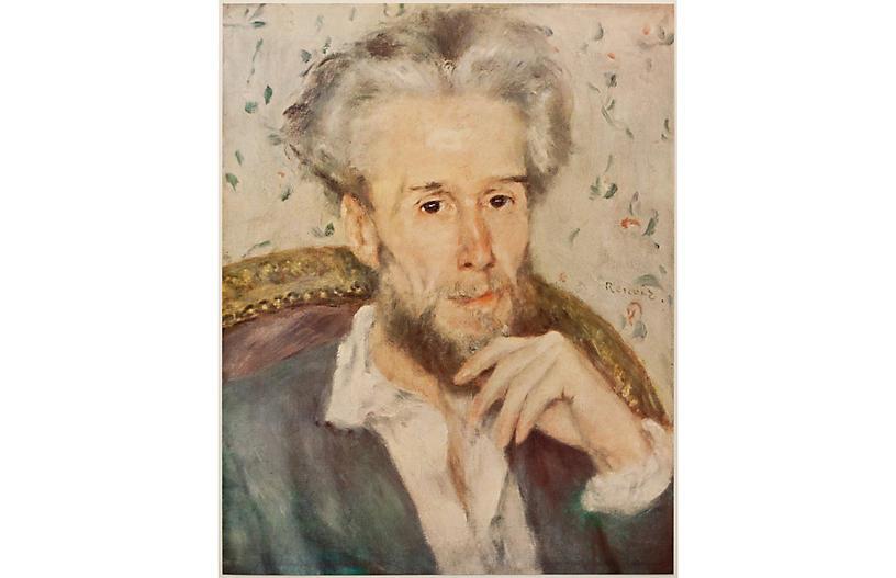 1950s Renoir, Victor Chocquet Portrait