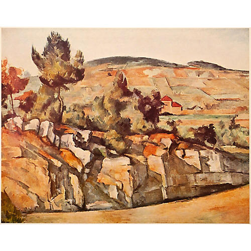 1950s P.Cezanne, Mountains in Provence