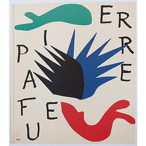 Matisse, The First Art Pocket Book Cover