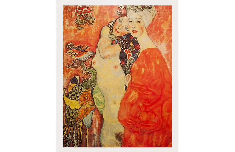1996 Gustav Klimt, The Girlfriends