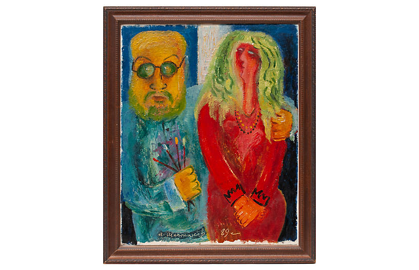 Matisse & His Muse, Adolf Shestakov COA