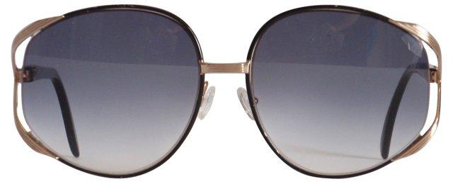 Dior Black & Gold Sunglasses