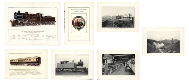 British Railway Prints, C. 1910, S/7