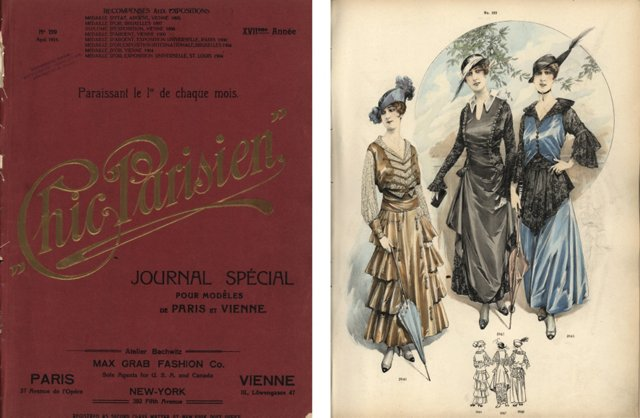 Chic Parisien Fashion  Catalog, 1915