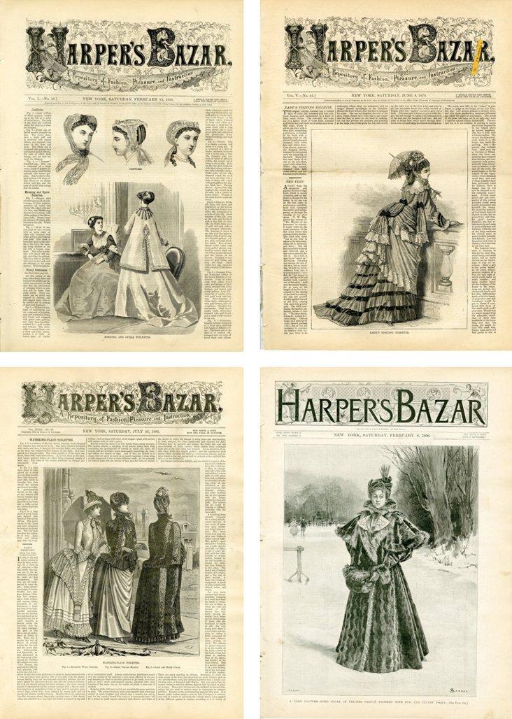 Harper's Bazar,  1860s-'90s,  S/4