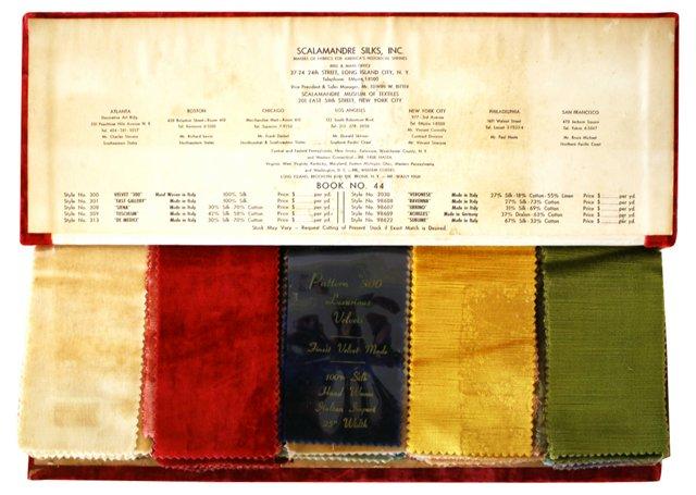 Scalamandre Italian Import Silk Swatches