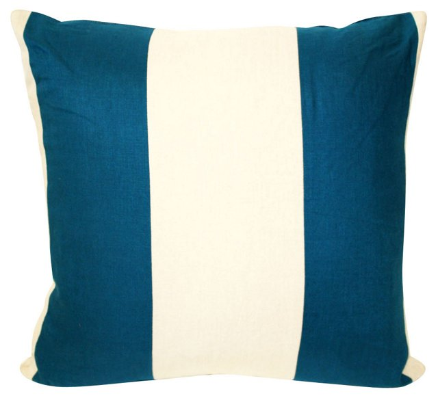 Pieced     Striped  Pillow