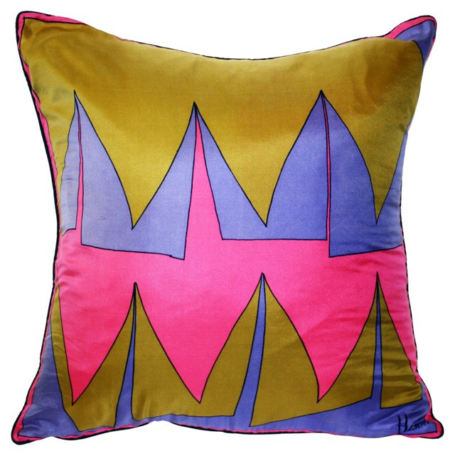 Vera Silk Scarf Pillow
