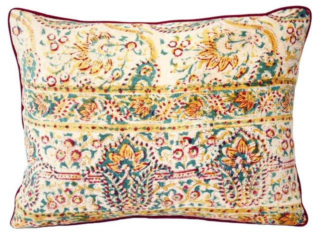 Indian Paisley   Pillow