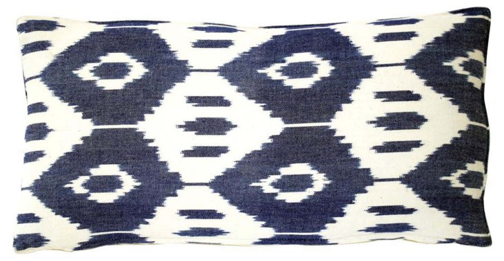 Ikat Bolster PIllow