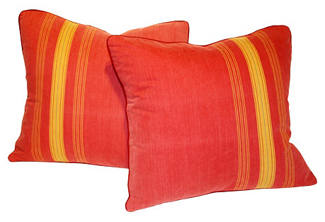 French Pillows, Pair
