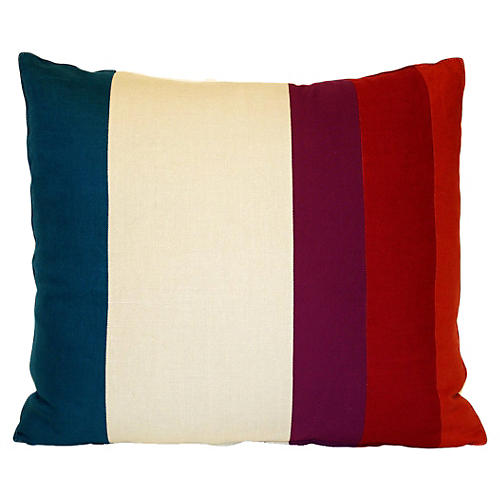 Pieced Color Field Pillow