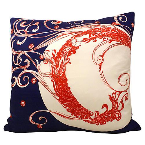 Silk Scarf Pillow