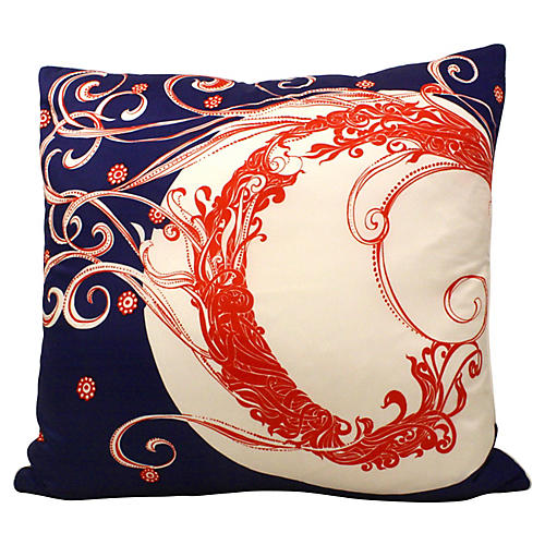 Silk Scarf Pillow