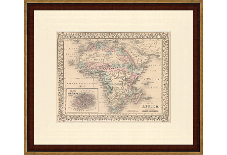 1870s Map of Africa
