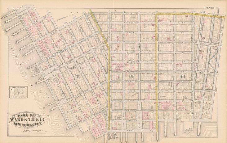 Lower East Side,  1879