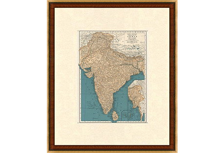 Map of India, 1937
