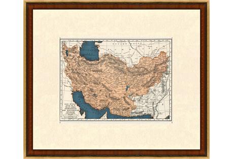 Persia & Afghanistan, 1937