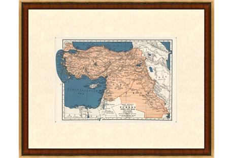Turkey, Syria & Iraq, 1937