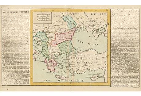 Southeastern Europe Map, 1767