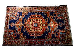 Antique Malayer Rug, 6