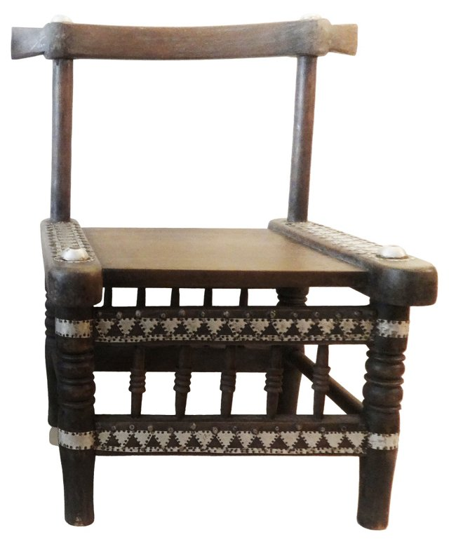 African Ceremonial Chair