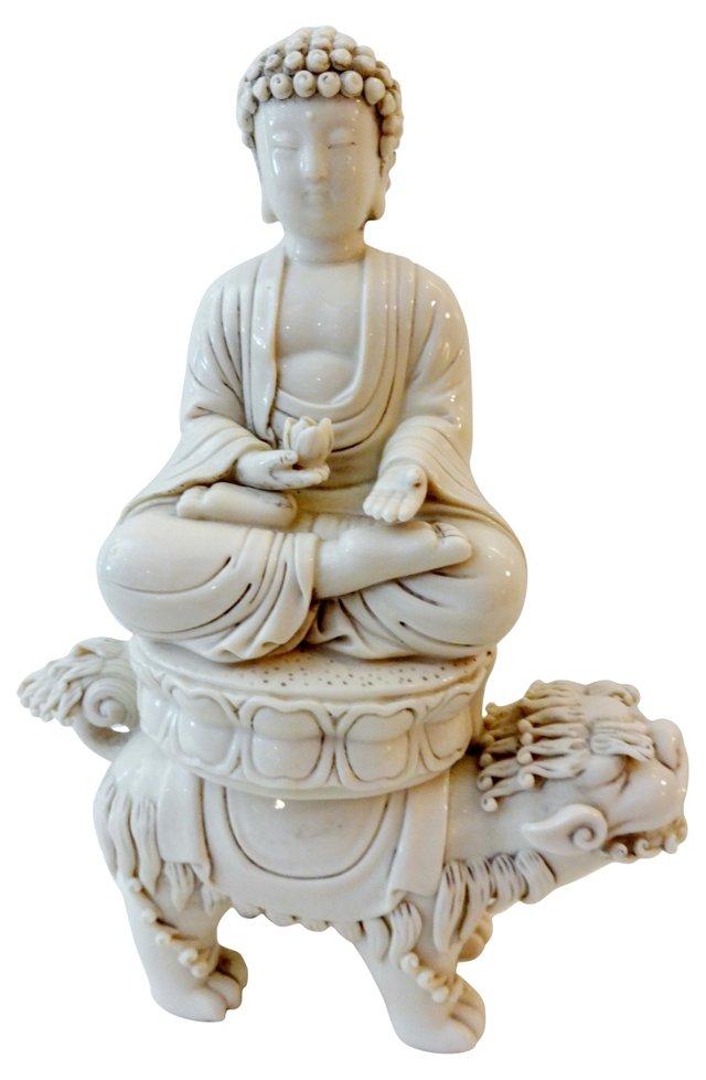 Blanc de Chine Buddha & Foo Dog