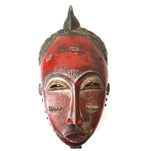 African Portrait Mask