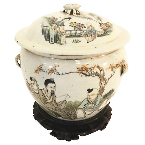 Chinese Export Ginger Jar