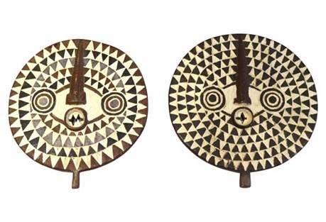 Bobo/Bwa Tribal Dance Masks S/2